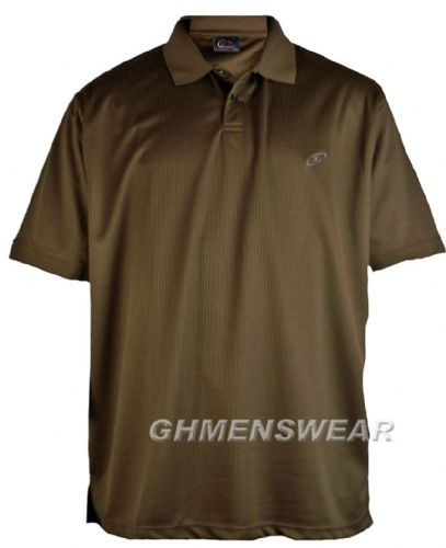 Mesh Polo Shirt BROWN